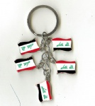 IRAQ flag key chains