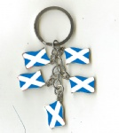 Scotland flag key chains