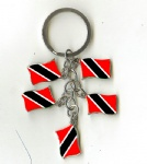 Trinidad and Tobago flag key chains
