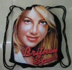britney spears cotton Drawstring gym bag