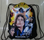 michael jackson cotton Drawstring gym bag