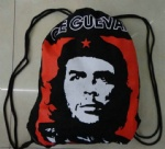 Ernesto Che Guevara cotton Drawstring gym bag