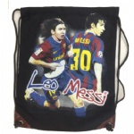 LEO MESSI double-faced Canvas Drawstring bag