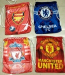 liverpool arsenal manchester united chelsea Drawstring bag