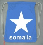 somalia flag Drawstring bag