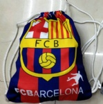 FC Barcelona flag Drawstring bag