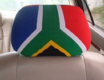 south africa flag car seat head rest cover