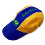 Brazil flag Fashion Football Cap Brasil fan baseball hat